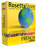 Rosetta Stone French Language Learning Software